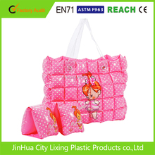 colorful PVC inflatable bubble beach bag