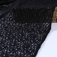Delicate cotton embroidery fabric lace for lady clothes/garment