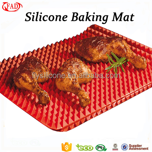 Heat-resistant Non-stick Pyramid Silicone Microwave Oven Liner