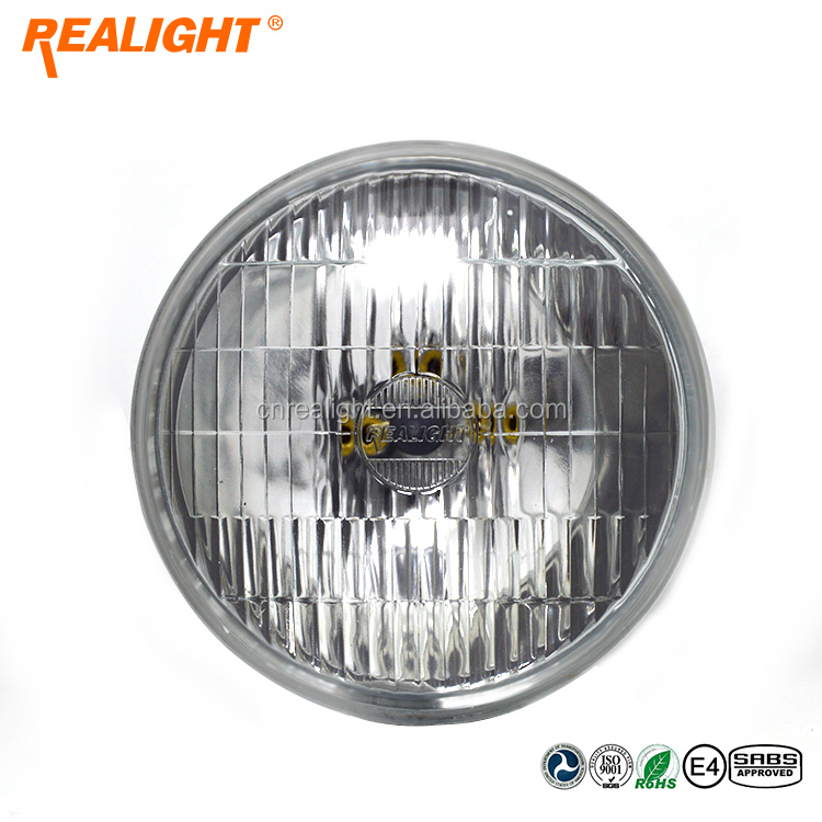 high quality halogen sealed beam,head lamp,5 inch round,H4000 headlight for truck