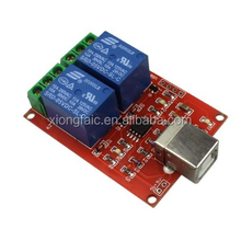 Smart Electronics 2 channel 5V relay Module Usb control switch / computer control switch / PC intelligent control