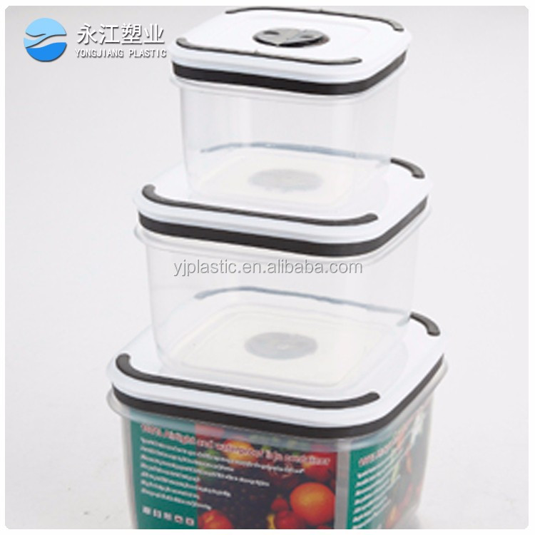 wholesale microwave safe rectangular glass food airtight container with vent lid thermal food container food storage container