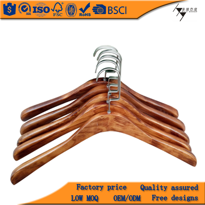 2017 New Arrival Custom Wooden Hanger Printed Logo,Customized Wooden Hangers For Clothes Worldwide