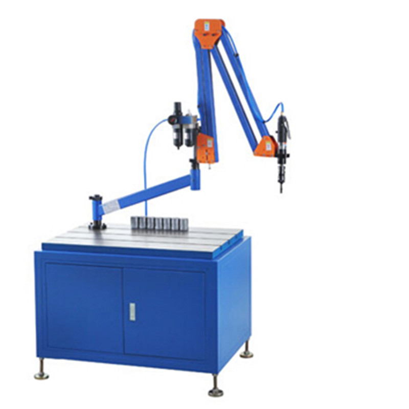 pneumatic automatic nut tapping machine in drilling