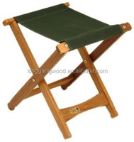 Dark green easy to carry samsonite folding chair wooden folding chair