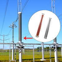 post light weight low voltage electrical insulator
