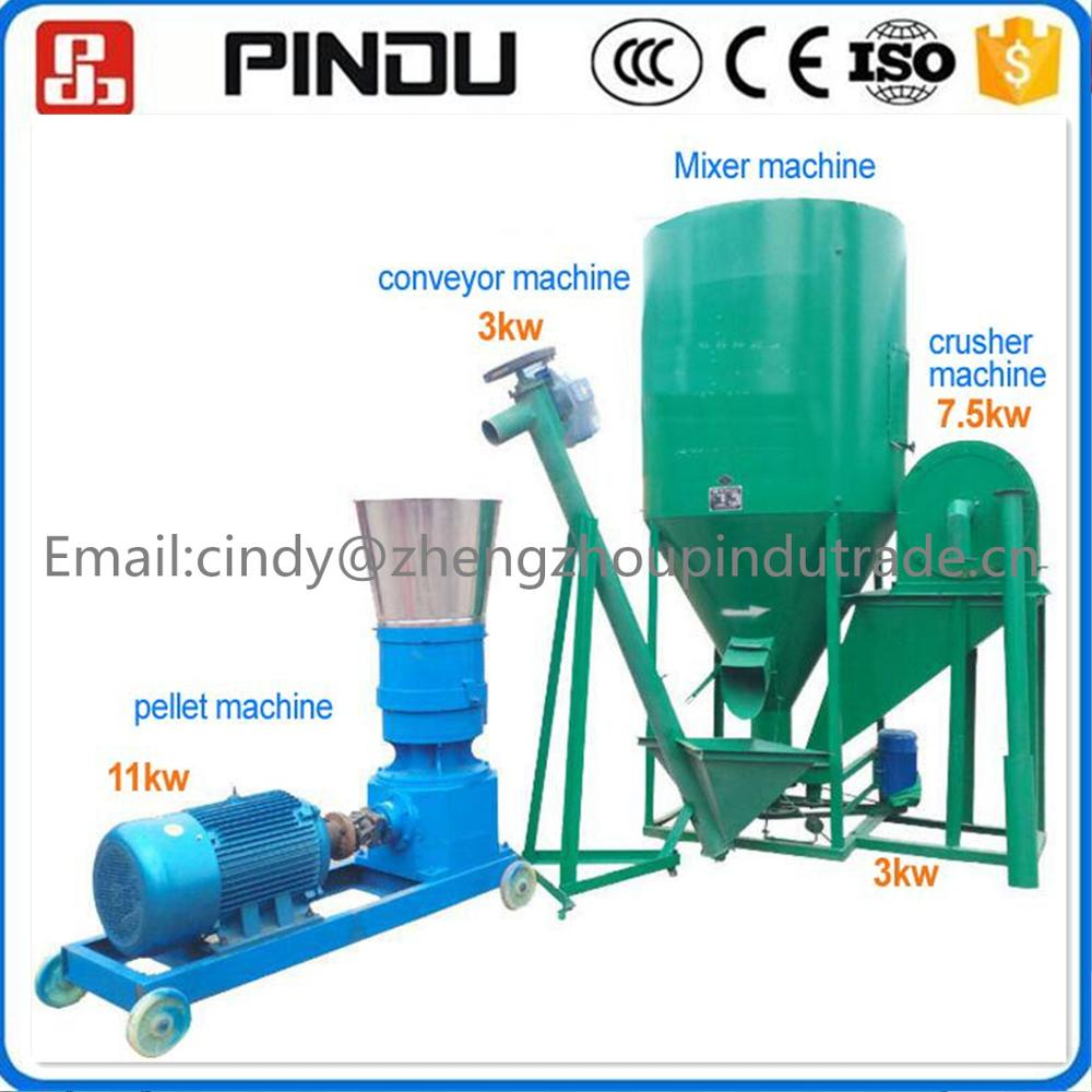 animal chicken food feed pellet making machine price