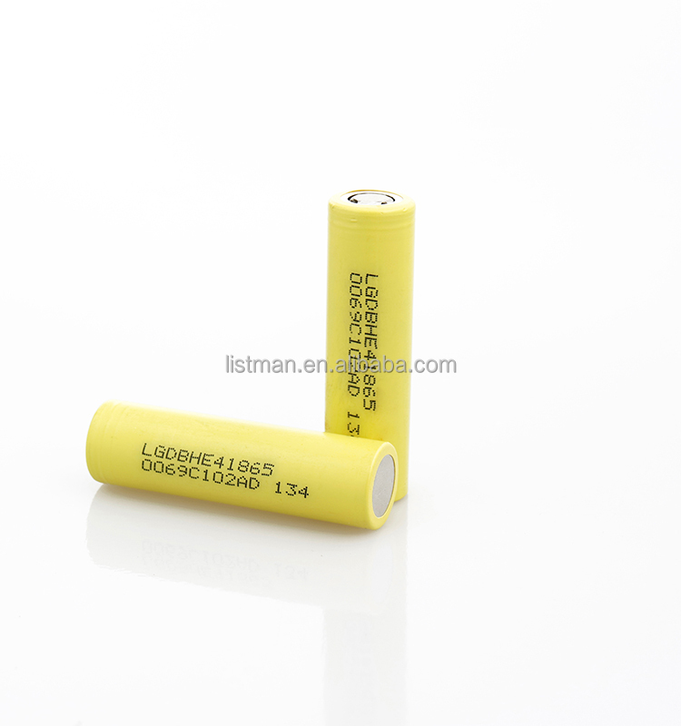 2015 new coming, LG HE4 18650 Battery /LG HE4 Battery 2500mah/LG HG2 3000MAH 35A battery