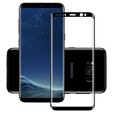Wholesale 4D 9H tempered glass screen protector for samsung galaxy s8,for samsung galaxy s8 full cover clear tempered glass