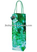 Hot sales photo paper packaging bag for shopping and promotiom,good quality fast delivery