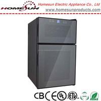 electric wine cellar / 2 door beverage cooler