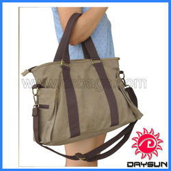 Casual Canvas Handbag Canvas tote bag