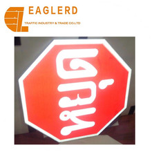 60cm Triangle circle rectangle Aluminum Road signs Highly reflective aluminum traffic sign warning signs