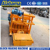 CE Standard Manufacturer Direct Factory movable concrete block making machine