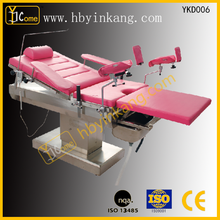 YKD006 CE marked Manufacture Price ordinary Operating table for delivery/obstetric table