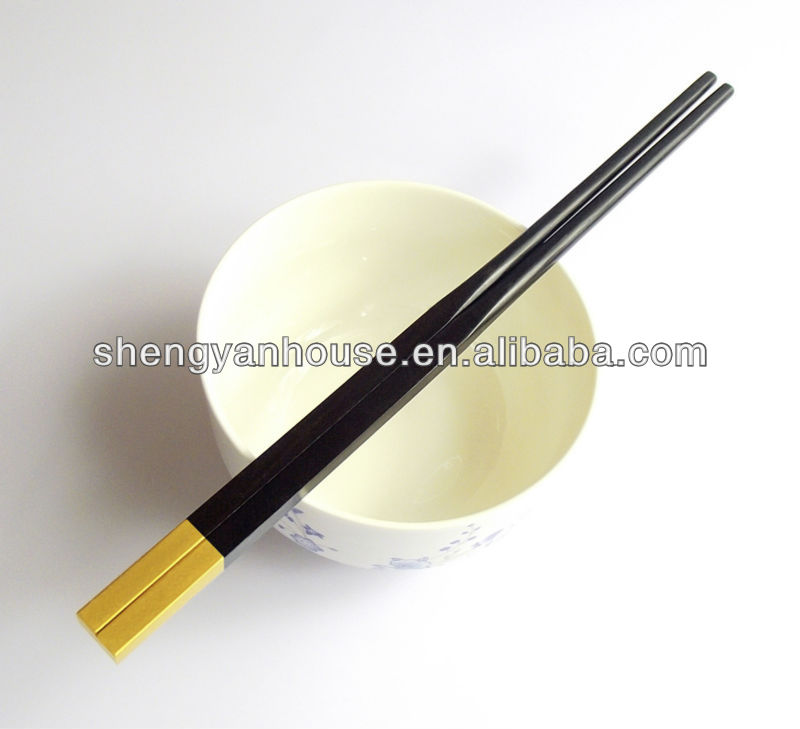 High quality hot-sale gold plated chopsticks