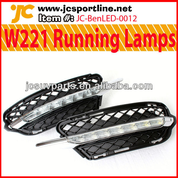 For Mercedes W221 LED DRL 09-12 S350 Daytime Running Lights
