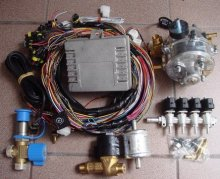 CNG DDFI Conversion Kit for Diesel 4 cylinder truck