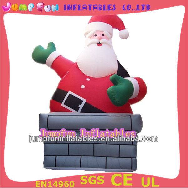 Inflatable Father Christmas for Christmas Decoration