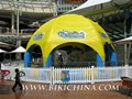 kid's inflatable swim pool and inflatable tent
