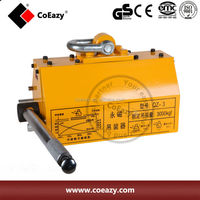 hand operated permanent magnetic lifter for crane lifting magnet