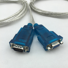 FTDI chip USB to RS232 serial DB9 cable driver 6 feet