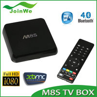 2015 internet iptv google amlogic s905 mx9 Android TV 4K m8s plus m8s android 5.1 for global use