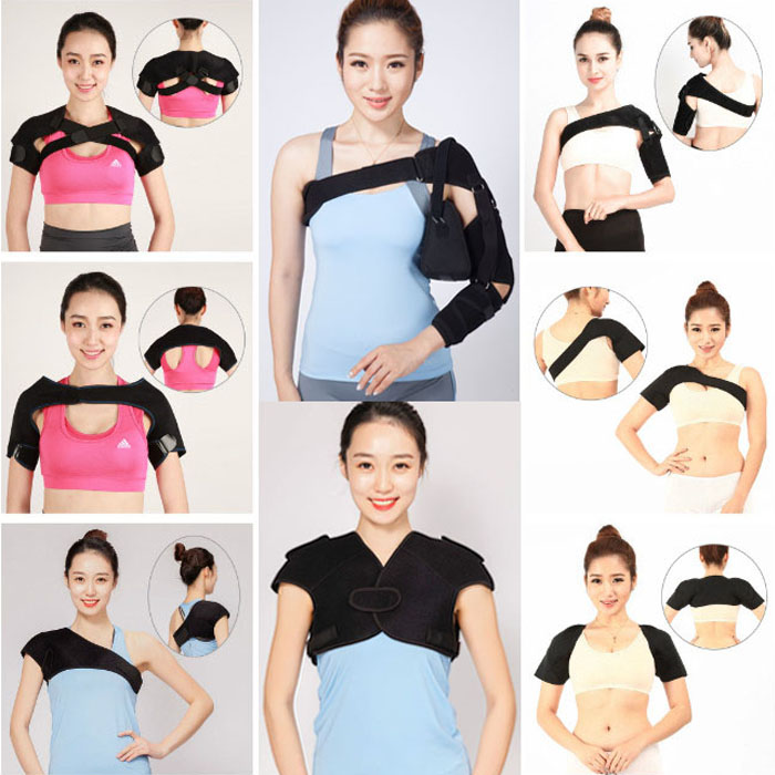 Adjustable Elastic Shoulder Support belt/shoulder pain relief belt /shoulder support