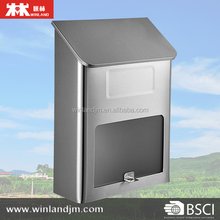 Wall Mounted Stainless Steel Mailbox Letterbox Mail box