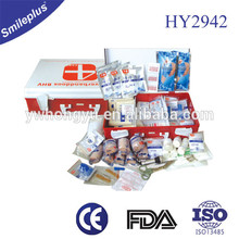 HY2942 Hard Case 285pcs medical supply workshop factory first aid kit