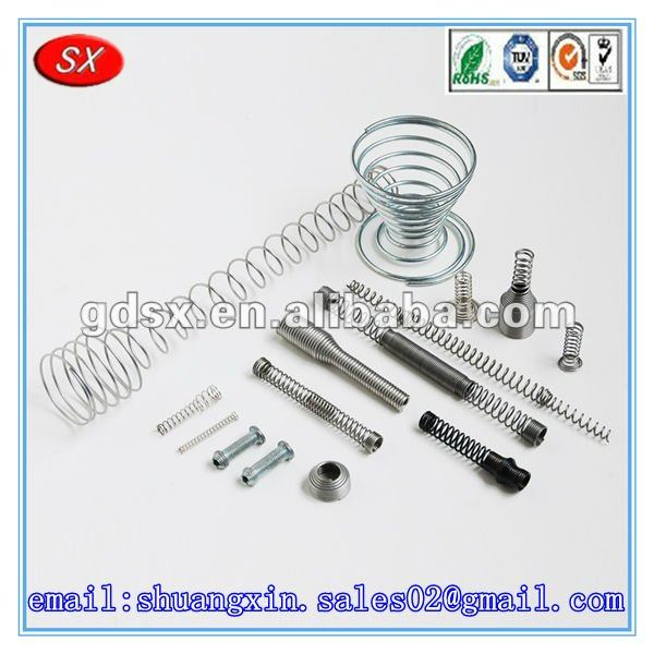 Customized high quality and cheap notebook spring, copper spring,potentiometer return spring