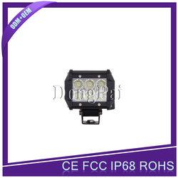 Factory price 4x4 car 18w work off road lights led