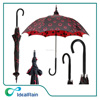 affordable unique pogoda shape umbrella with red circle outside