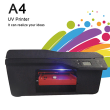 Professional UV Printing Machines Phone Artist Colour Label Printer For Ceramic Tiles