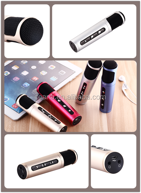 present choice magic sing along karaoke microphone factory price