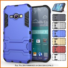 Heavy duty mobile phone hard case cover for samsung galaxy j1