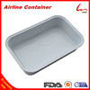 Hard Smooth Wall Aluminium Containers For Food Use