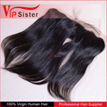 Hot sale free part virgin brazilian unprocessed human hair lace frontal 13x4 natural straight with baby hair