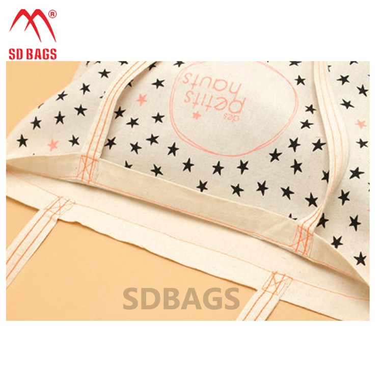 Best Selling custom eco standard size cotton fabric tote shopping cotton bag