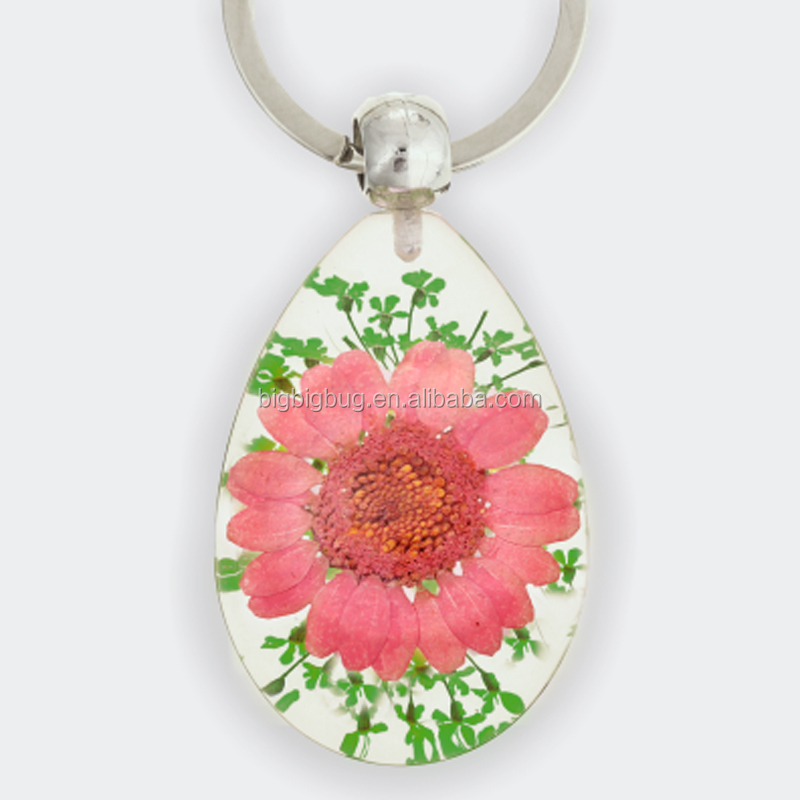 Special gift flower keychain for ladies