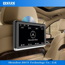 Android 6.0 10.1 inch car headrest monitor In-car Touch Screen digital headrest tft lcd monitor