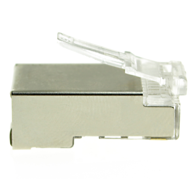 Wall plate keystone jack cat6 ftp rj45 plug