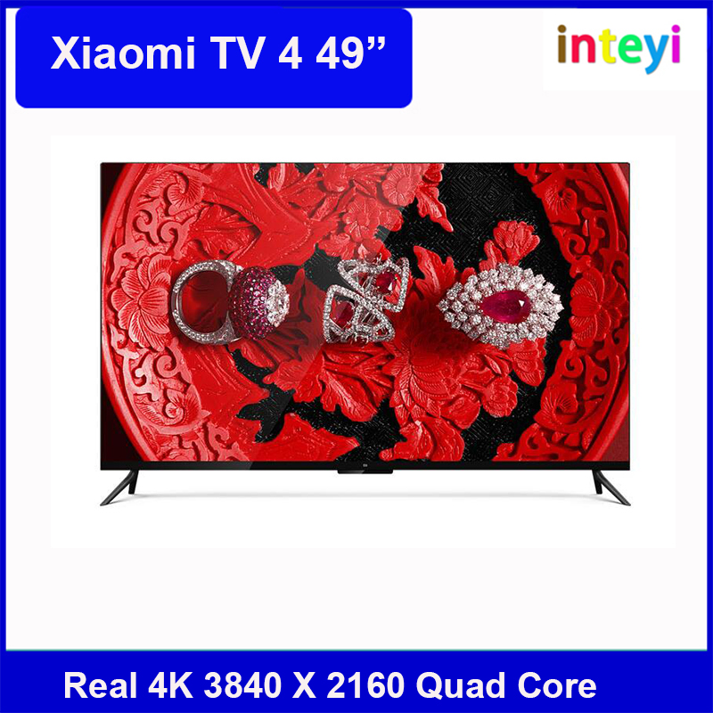 "Xiaomi TV 4 49""Inches English Interface HD Screen Real 4K 3840*2160 Ultra Quad Core Mali-T830 MP2 up to 750MHz"