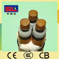 XLPE Insulated PVC Sheathed 3 Core YJV Cable