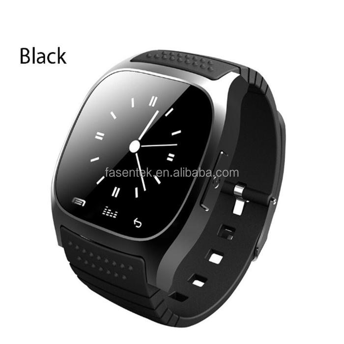Hot fashion sport Bluetooth Smart Watch phone digital smartwatch M26 with Dial SMS Remind Pedometer
