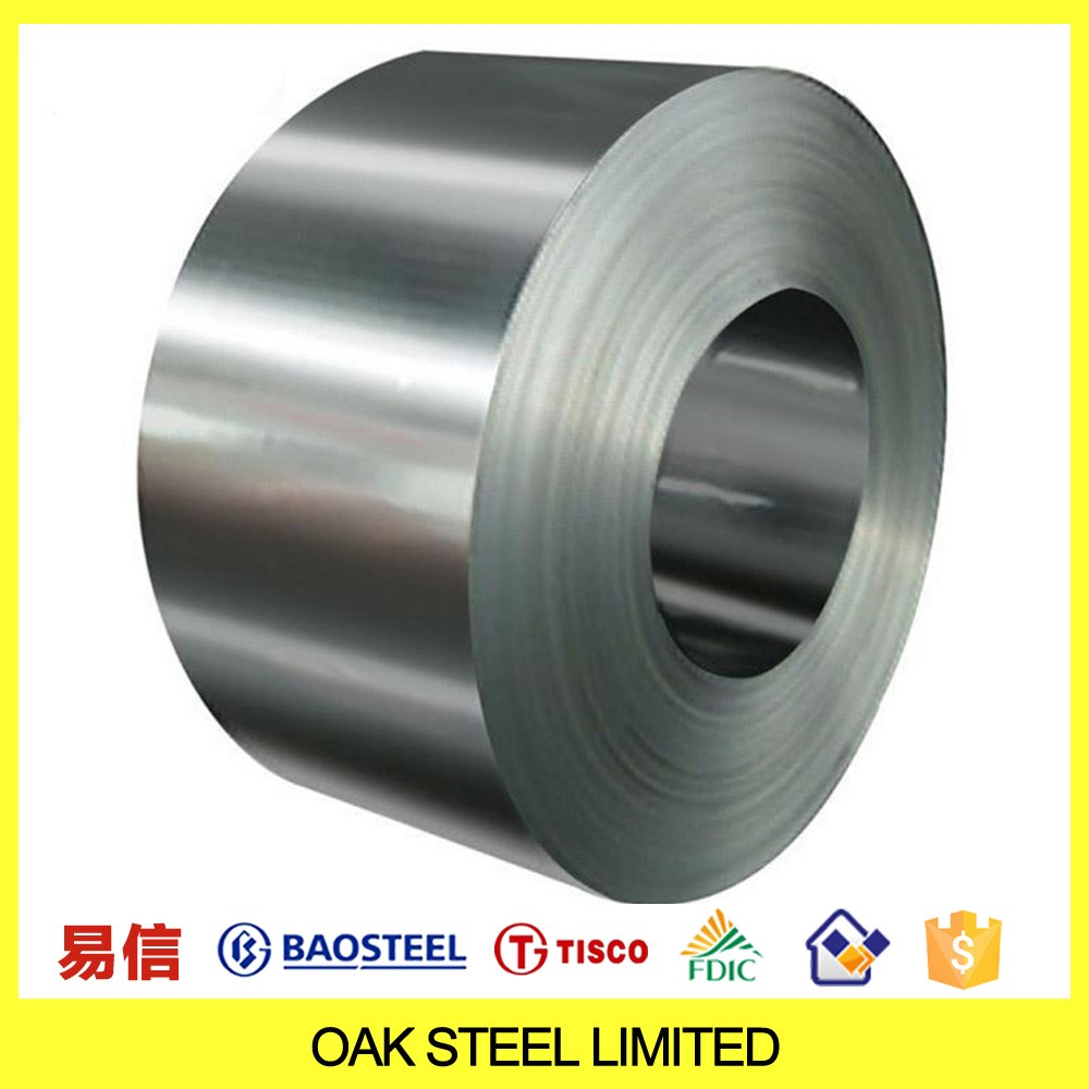 Baosteel Prime Quality China Mirror Polish Ba 2B 201 304 Stainless Steel Hot Rolled Cold Rolled Steel Coil Price Per Ton