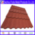 Decorative Stone Coated Metal Villa Roof Tile/stone coated roofing sheet/building construction material