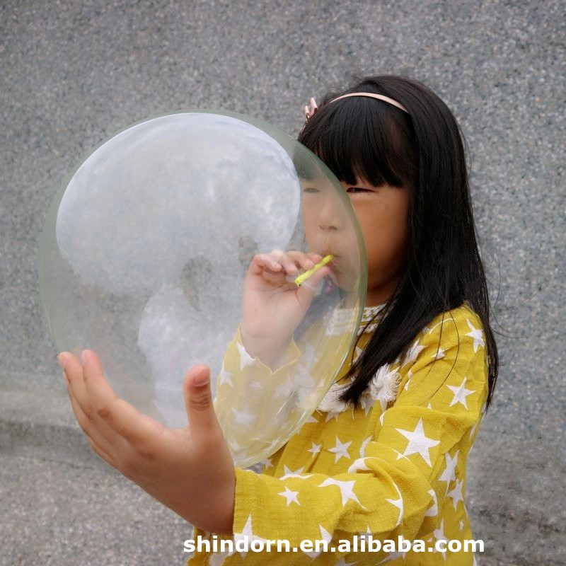 Plastic Bubble Balloons, funny special safe toys for kids, new products 2017
