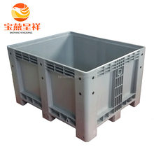 Large folding plastic pallet box bin for fruit and vegetables plastic pallet box used
