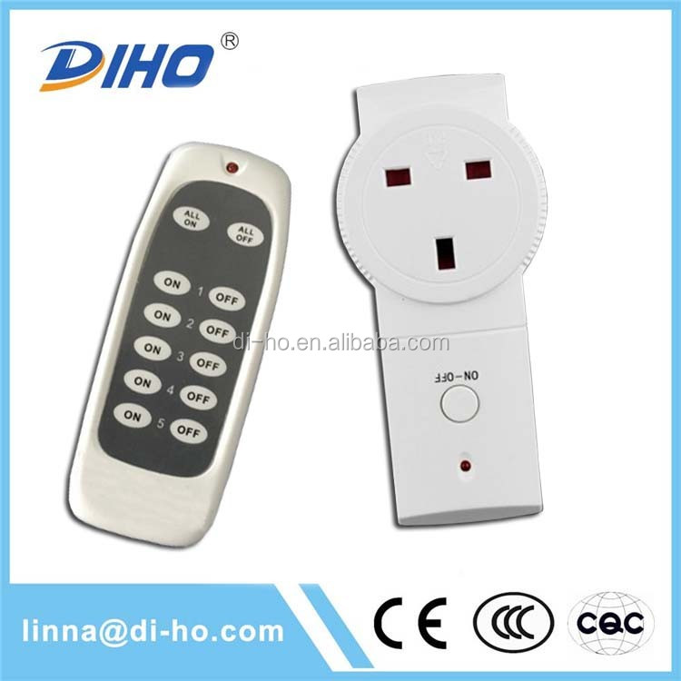diho long distance wireless remote control light switch